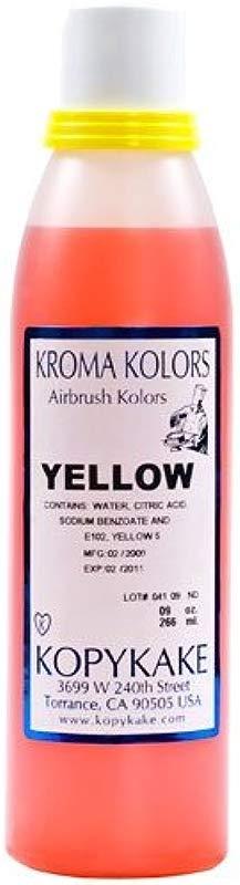 Food Coloring Yellow 1 Bottle 9 Oz