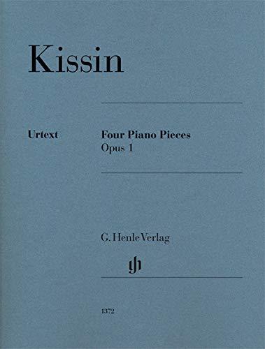 Four Piano Pieces op. 1: Urtextausgabe; Klavier