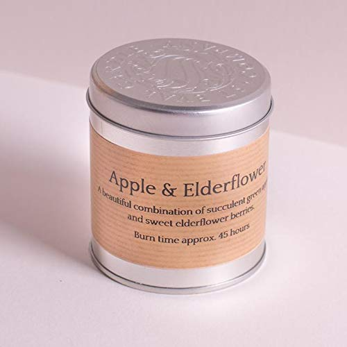 Tin Candle - Apple and Elderflower by St Eval