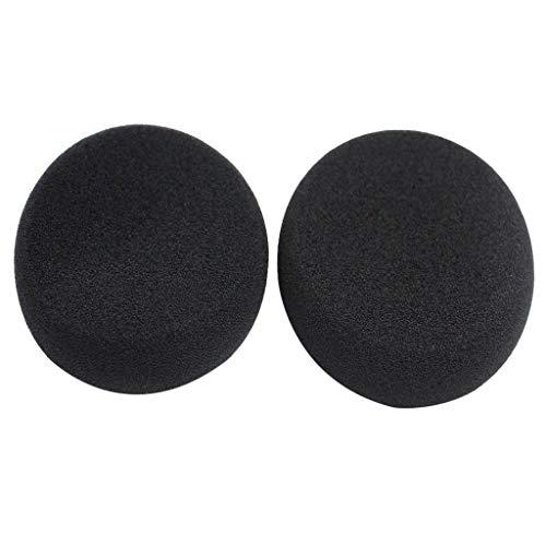 Shiwaki Almohadillas de Esponja de Recambio Cómodo Compatible con Grado SR80 SR125 SR225 SR325, Negro