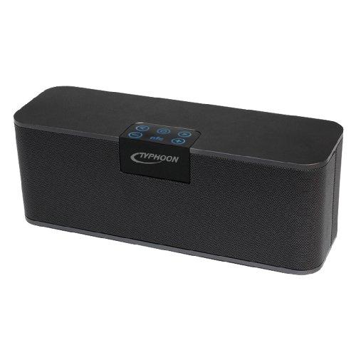 Typhoon SoundBooster Bluetooth 4.0 Lautsprecher mit NFC und Freisprecheinrichtung - TM001