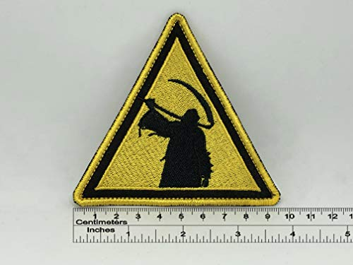 Children of Bodom Triangle Death Patch 9,5cm x 9cm / 3,7' x 3,6' (Iron-On)