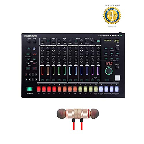 Best Price Roland AIRA Rhythm Performer (TR-8S) includes Free Wireless Earbuds - Stereo Bluetooth In...