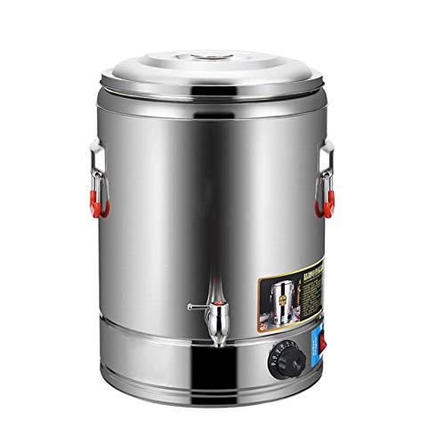 Dispensador de Agua Caliente, Hervidor de Agua Eléctrico de 30L/40L con Grifo,...