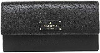 Kate Spade Black Leather For Women - Flap Wallets