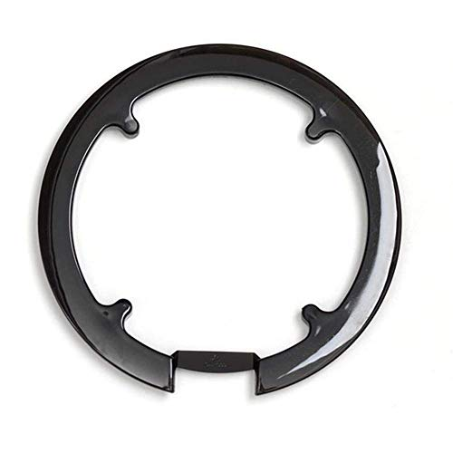 narratorbook Bike Chain Guard Bicycle Chainring Guard Chainstay Protector Chain Wheel Guard Cover Mountain Bike Crankset Guard for 42T 44T Chainring