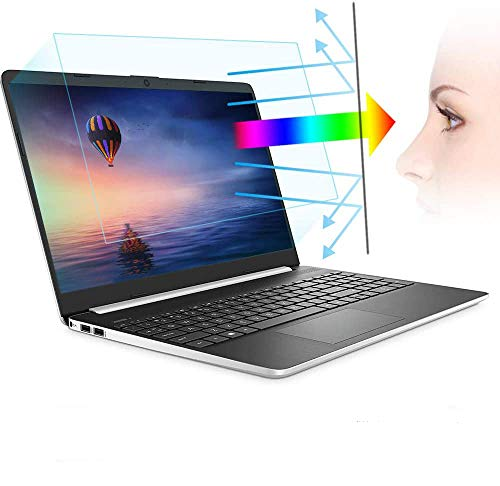"2 Pack 14 Inch Laptop Anti Blue Light Screen Protector, Blue Light Blocking & Anti Glare Filter Film Eye Protection for 14"" with 16:9 Aspect Ratio Laptop"