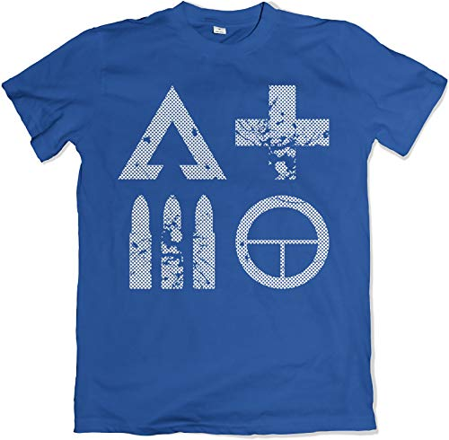 Teamzad Battle Ready and Field Tested Classes Blue T Shirt Extra Large