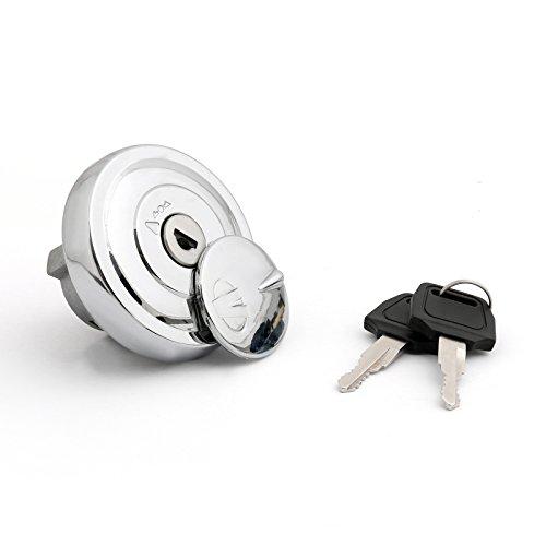 Bruce & Shark Fuel Gas Tank Cap Keys for Yamaha XV1900 XV1700 XV1600 Road Star Midnight 2004-2014