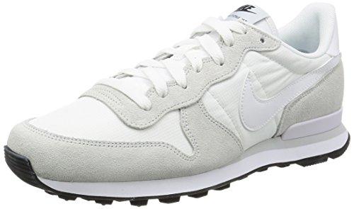 Nike Internationalist, Sandalias con Plataforma Hombre, Blanco (Summit White/White/Off White/Pure Platinum/Black), 43 EU