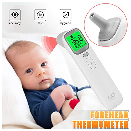 Why Should You Buy JHLIA [Limited time Infrared Baby Adult Thermometer for Fever, Forehead and Ear D...
