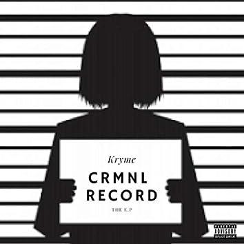 CRMNL RECORD