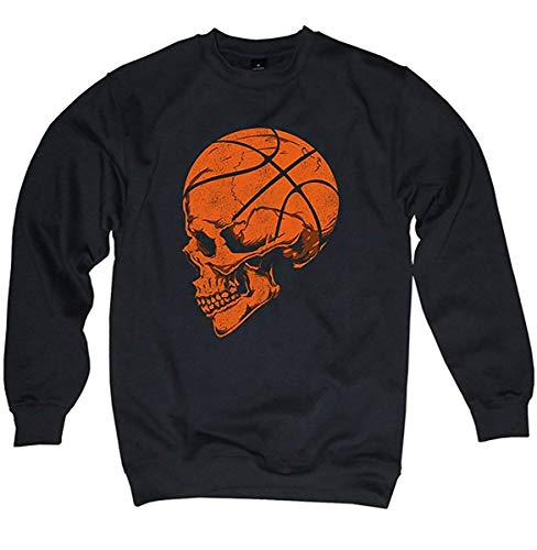 NG articlezz Basketball Skull Oldschool Sweater Pullover Totenkopf S-3XL