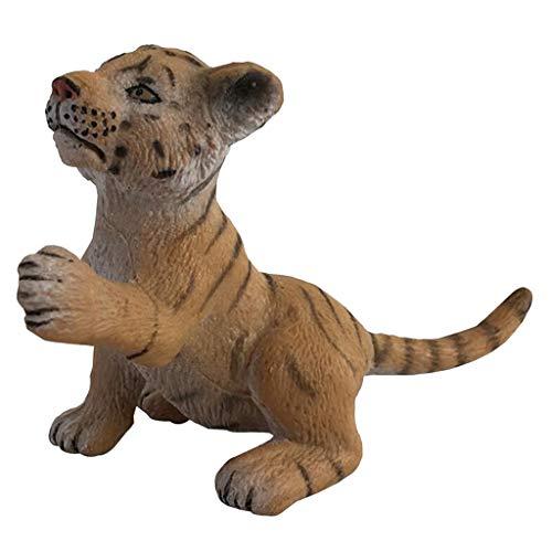 joyMerit Niedliche Miniatur-Deko, Figur Kleiner Mini Dekofiguren Tier, Tischdeko - D-Tiger Spielen