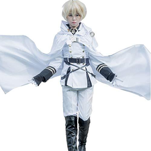 Lilongjiao Seraph of The End Mikaela Hyakuya Cosplay Cosplay Anime Kostüm-Performance-Bekleidung (Size : M)