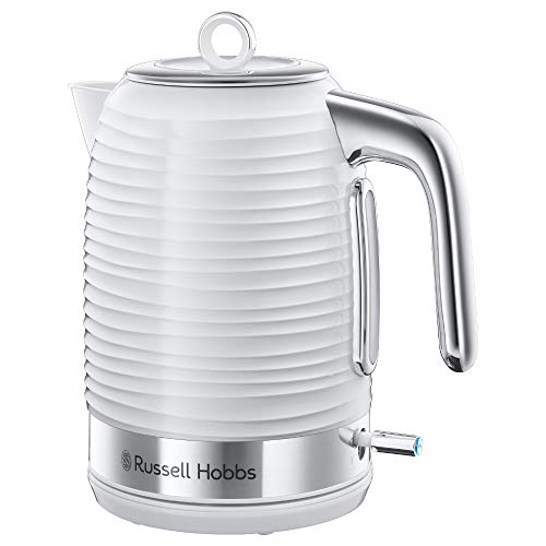 Russell Hobbs Inspire Blanco - Hervidor de Agua (Eléctrico, 17 l, 2400 W, Blanco) - ref. 24360-70