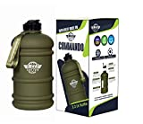Supplement House Ind - 2.2 Litre Tritan Water Bottle - Now with Easy Drink Cap - Durable & Extra Strong - BPA Free - Ideal for: Gym, Dieting, Bodybuilding, Outdoor Sports, Hiking & Office