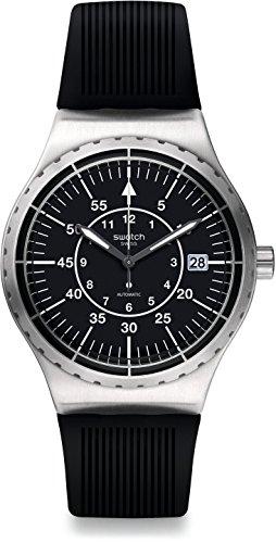 Swatch Reloj Analógico para Hombre de Automático con Correa en Plstico YIS403
