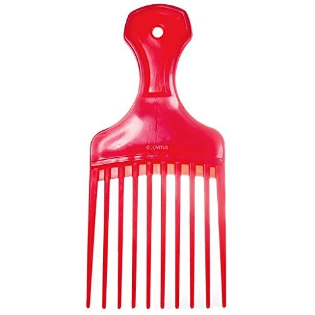 ナイトスポットしつけ不要Pocket Pick Comb - Assorted Colors (Red) [並行輸入品]