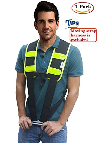 Moving Straps Harness Pad - AritGifts Lifting Straps Shoulder Pad for Protect Shoulder & Back Without Pain, Great Tool to Pro Movers, 1 in Package (No Straps)