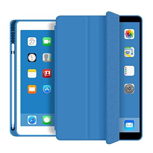 Huiran Estuche para Nuevo iPad Pro 11 2020 Estuche iPad Pro 2020 12.9 2da 4ta generaciónFuerte Estuche magnéticoSoporte Apple Pencil-Sky Blue11