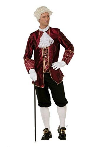 Wilbers Historisches Herren Kostüm Barock Bordeaux Karneval Fasching Gr.50
