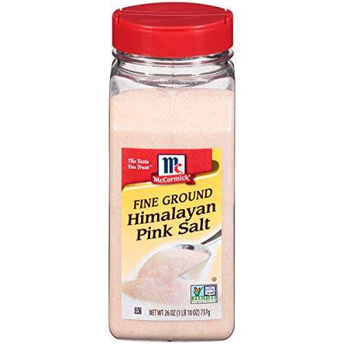 McCormick Fine Pink Himalayan Salt (Pink Salt for Cooking), 26 oz