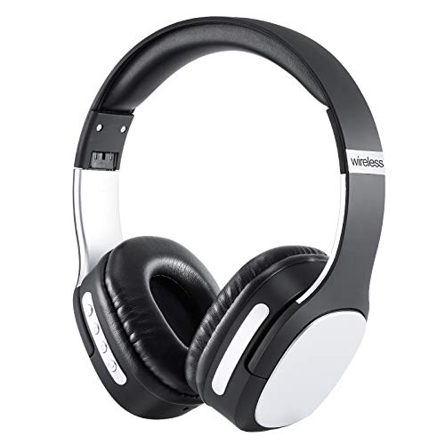 Tynctway Noise Canceling Headphones, Wireless Over Ear Bluetooth Headphones, for Home, Office, Travel, with Mic for Phone-Call