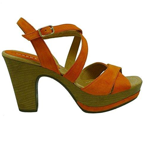 Zapatos Mujer Sandalias Weekend 17462 Naranja 37