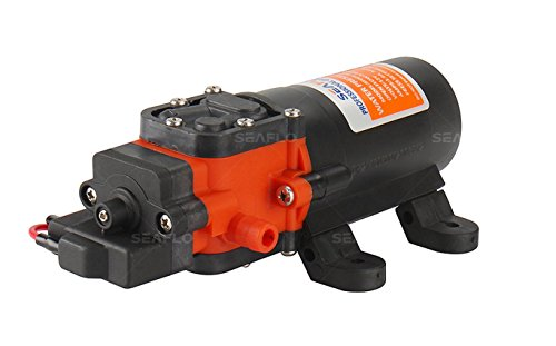 New RV/Marine 12 Volt DC / 12 V DEMAND Fresh Water Diaphragm 35 PSI Self Priming PUMP