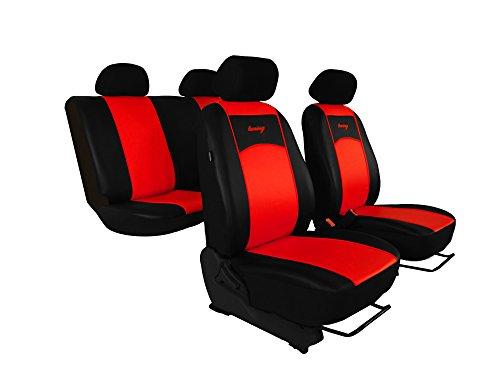 Sitzbezüge passend für A-Klasse (W168, W169). Super Qualität, DESIGN KUNSTLEDER. In diesem Angebot HELLROT (In 7 Farben bei anderen Angeboten erhältlich) . Komplett besteht aus: Sitzbezügen + Kopfstützen + Montagehäckchen.