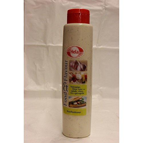 Hela Gewürz-Sauce Knoflooksaus 800ml (Knoblauchsauce)
