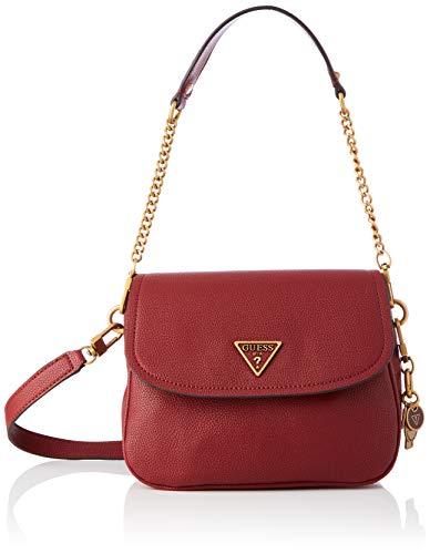 Guess Destiny Shoulder Bag, Bolsos Hobo Mujer Merlot, talla única