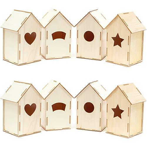 craft bird houses - 2