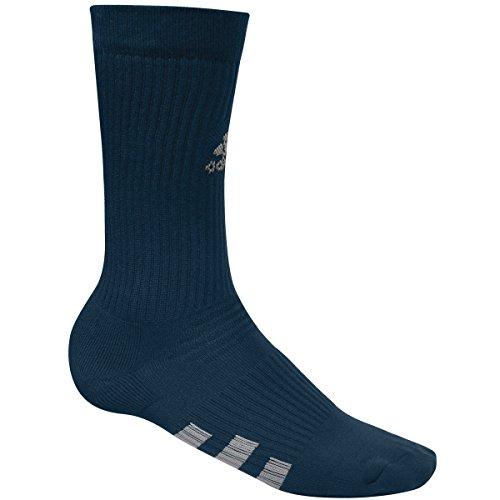 adidas Men's 2-Pack Golf Crew Socks, Blue (Azul AE728933), One (Size:1114)