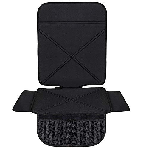 Minetom Autositzauflage Kindersitzunterlage Isofix Geeignet Wasserdicht Autositzschutz Universal Autositzschoner Auto Unterlage Schonbezug Für Kindersitz
