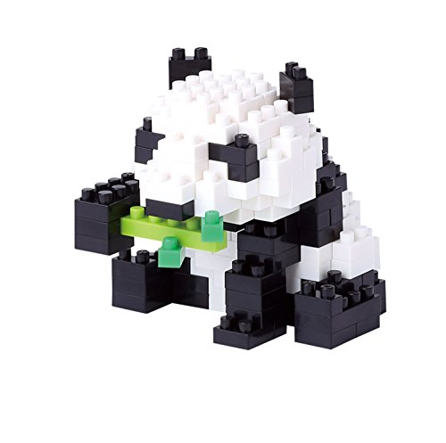 Unbekannt Nanoblock NBC-159Panda Bear Mini 3D Building Block Puzzle