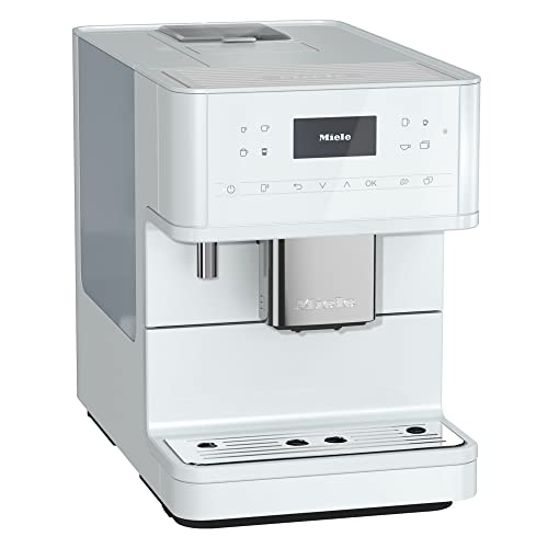 NEW Miele CM 6160 MilkPerfection Automatic Wifi Coffee Maker & Espresso Machine Combo, Lotus White - Grinder, Milk Frother