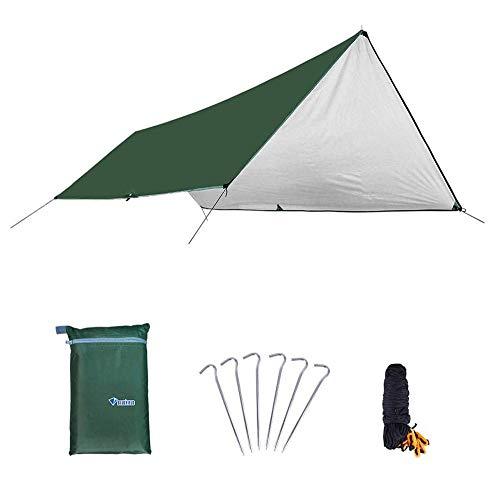 YYCHJU Tienda Camping al Aire Libre Acampar al Aire Libre Espesado Beach Pergola de Gran tamaño a Prueba de Lluvia Protector Solar Multi-Persona Shade