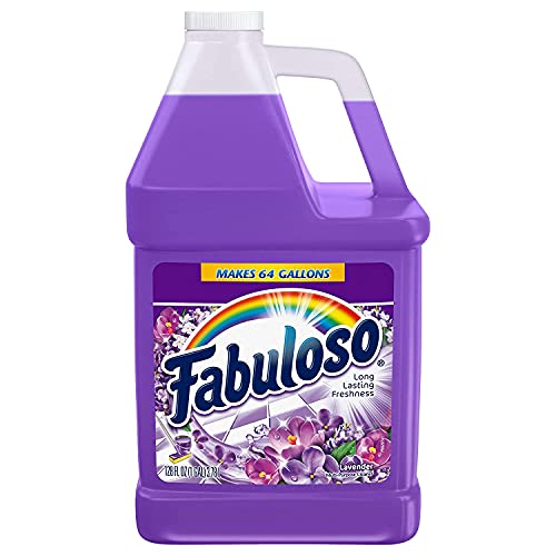 Fabuloso Professional All-Purpose Cleaner, 1 Gallon, Concentrated Deep Cleaning Professional Degreaser Bottle (Lavender, 1 gal)