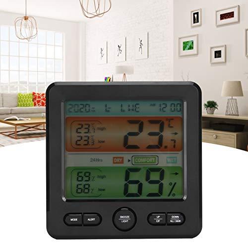 Higrómetro, de habitación Humedad Medidor de Temperatura Profesional para Oficina en casa, escuelas,...
