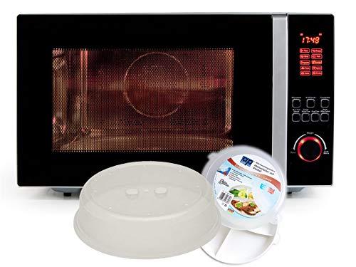 Kombi-Mikrowelle mit Grill und Konvektion, 42 L, inkl. 5-tlg. Starter-Set