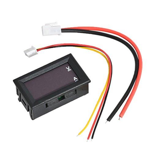 Great Features Of shamjina New Digital LED DC 10A Volt Amp Watt Power Monitor Ammeter Voltmeter Red&...