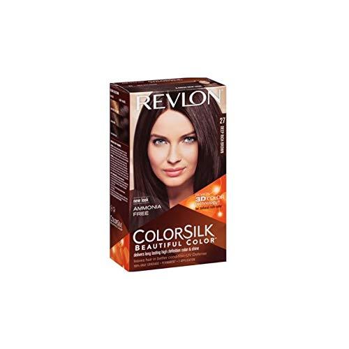 NATURAL HONEY - Revlon Colorsilk Sin Amoniaco 27 Castaño Cálido Profundo