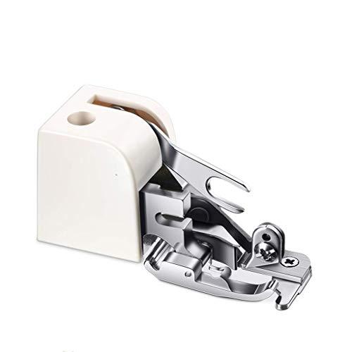 Accesorios Para Máquina De Coser 1 UNID CORTADOR LADO OFRECULAR PIE DE PERSULO PARA EL TIPO DE CALAJE DE LOS VÁS BAJOS ZIG-ZAG Máquina de coser DIY Accesorios de piezas de la máquina de coser Máquina