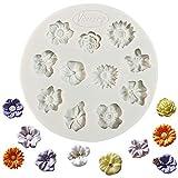 Flower silikon fondantform zuckerpaste kuchen cupcake design mat silikonform für kuchen dekorieren...