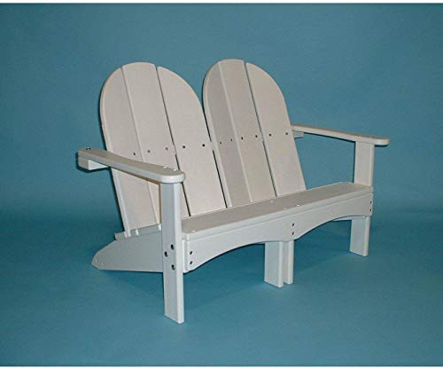 Tailwind Furniture Recycled Plastic Kids Double Adirondack Chair - Lead Time to Ship 1 to 3 Weeks