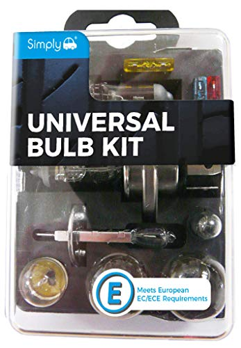 Simply UKB1 Universal Headlight Bulb Kit, Includes 7...