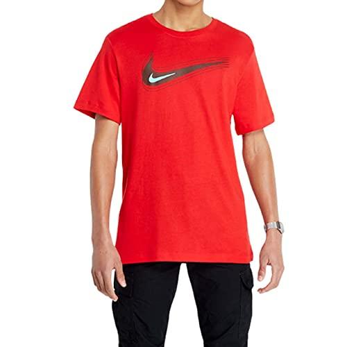 Nike Camiseta para hombre. rojo XL