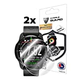 IPG for KINGWEAR KC03 Smartwatch Screen Protector (2 Units) Invisible Ultra HD Clear Film Anti Scratch Skin Guard - Smooth/Self-Healing/Bubble -Free